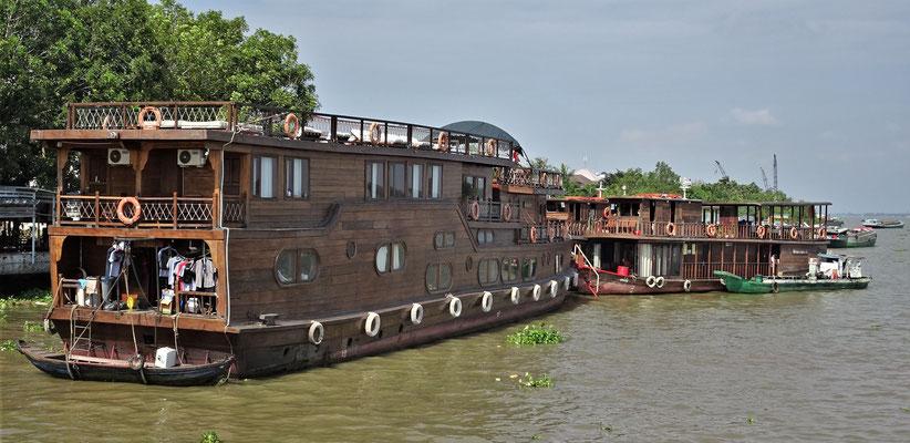 Die verschiedenen Boote.....