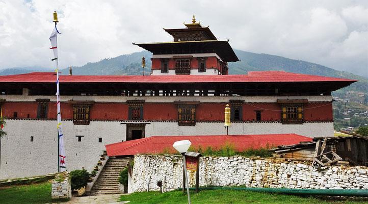 ...Paro Rimpung Dzong der Heute die...