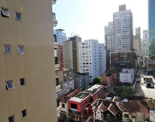 .....im Zentrum von Santos.