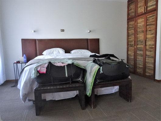 Unser Zimmer im Terral in Vicuna.....