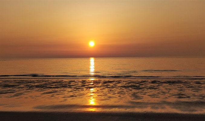.....schönen Sonnenuntergang.