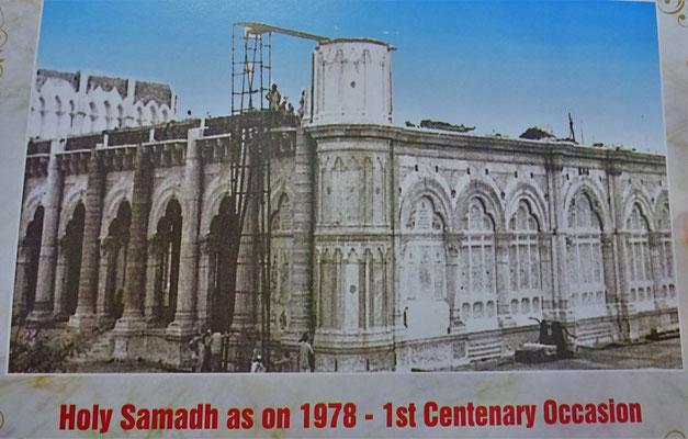 So sah Ugo den Tempel 1977 bei seiner ersten Indienreise...