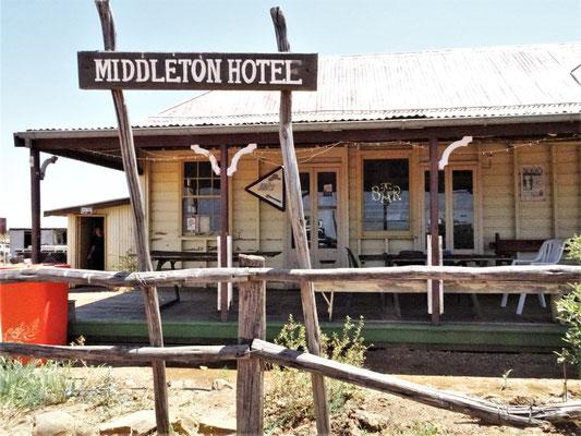Das Middleton Hotel.....
