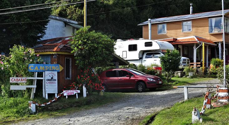 Der Campingplatz El Ciervo....