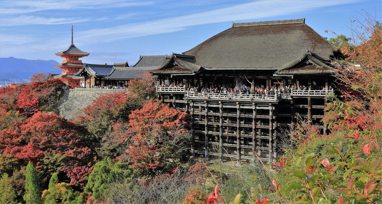 ....Kiyomizu-dera Tempel (Foto aus dem Internet)......