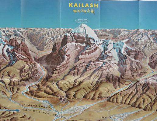 Der Kailash auf dem Bild...