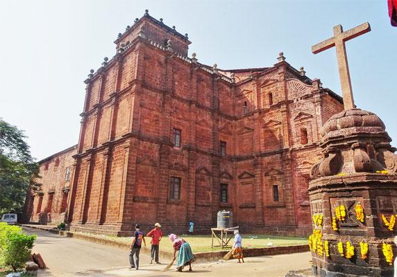 ...Basilica of Bom Jesus aus dem Jahre 1605...