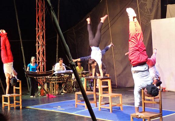 .....und Artistik Vorführungen.....