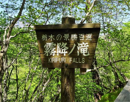 Die Kirifuri Wasserfälle.....