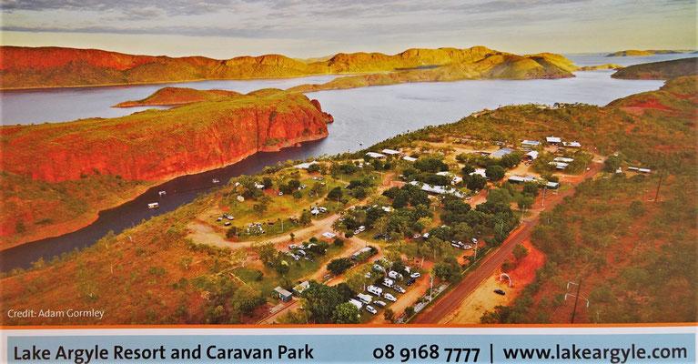 Der Caravanpark und......