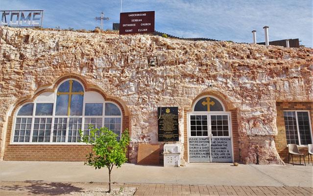 Die unterirdische Orthodoxe Kirche.