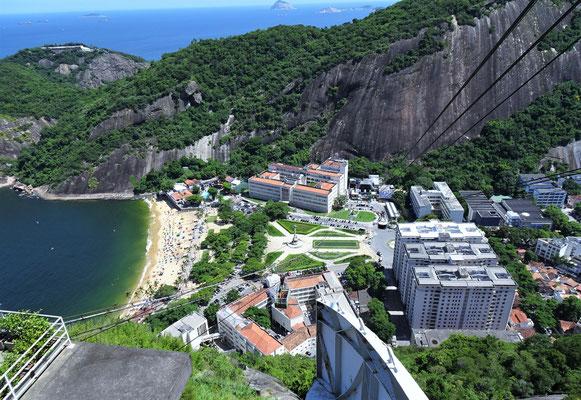 Der Blick auf die Talstation.