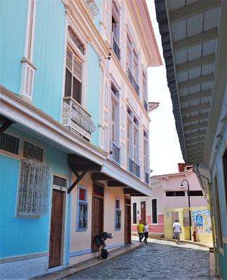 Die farbigen Häuser....