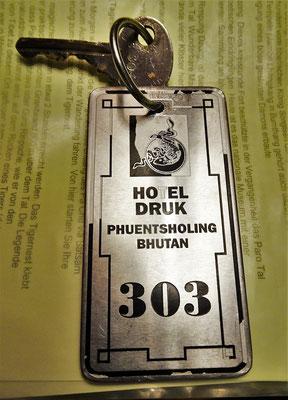 ...der Zimmerschlüssel.