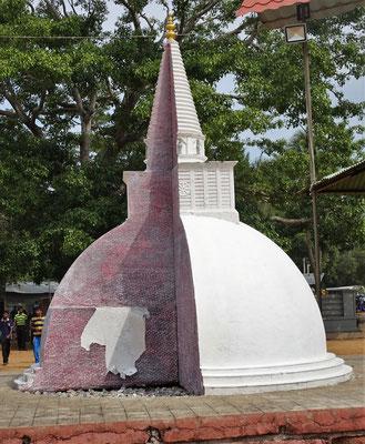 ...Sanda Hiru Stupa.