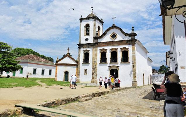 Die Kirche Santa Rita von 1722.