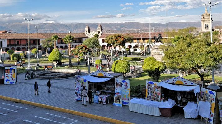 Plaza de Armas in Ayacucho....