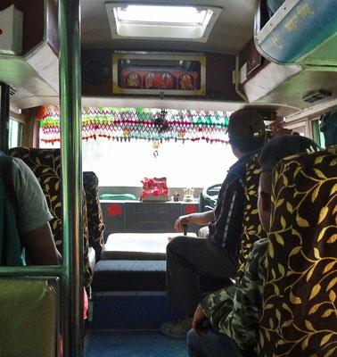 Unser Touristen Bus