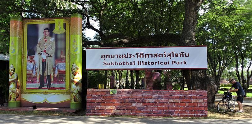 .....um den Historical Park zu erkunden.