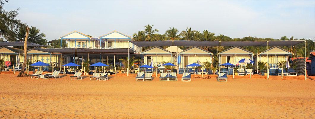 Das Cuba Agonda an der Agonda Beach.....