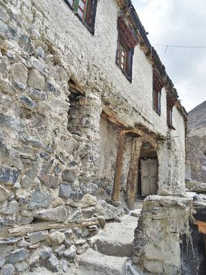 Alte Stützenkonstruktion...