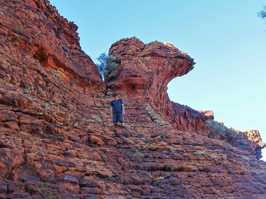 ....in dieser Felsenwelt.....