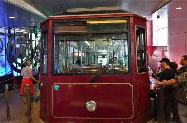 .....Victoria Peak Tram.