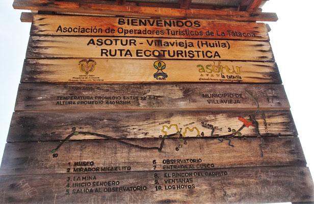 Die Tatacoa Wüste....