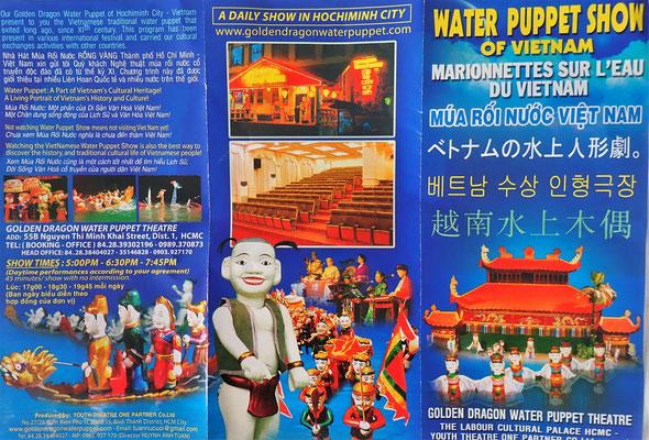 Die Wasser Puppen Show.