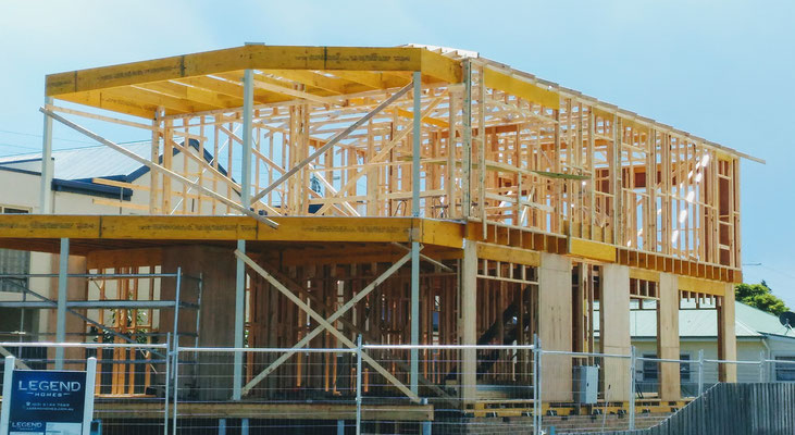 Der Einfamilienhaus Bau.....