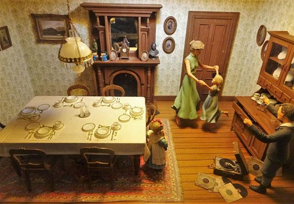 Auch dieses Diorama ist im Mst 1 : 12...