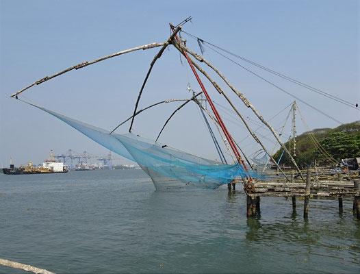 Die chinesischen Fischernetze...