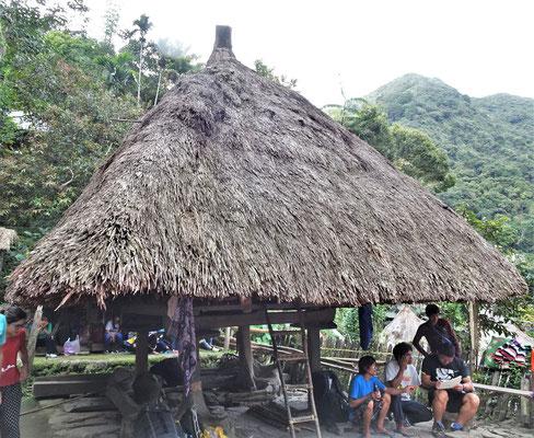 Ein typisches traditionelles Gebäude.....