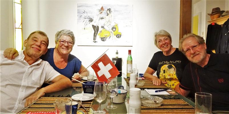 Einladung bei Brigitte und Werni.