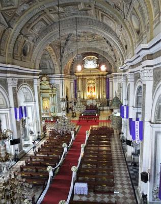....in der San Augustin Kirche....