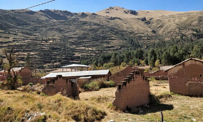 Auf der Fahrt nach Cusco.