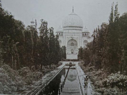 Der Taj Mahal 1862....