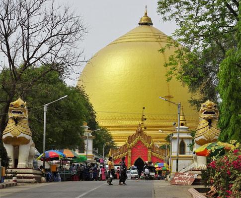 ....Kaung-mu-daw Stupas.
