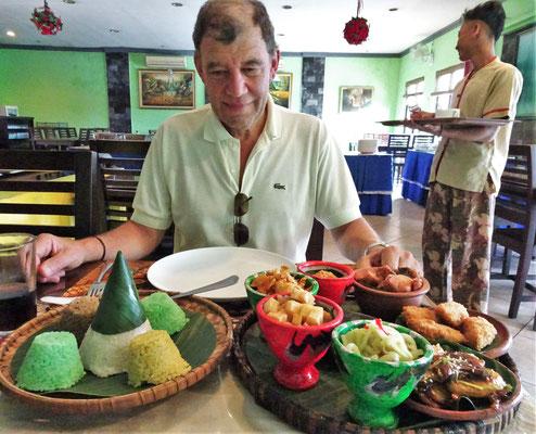 Unser Lunch im Bamboo Restaurant mit.....