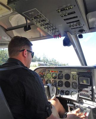 ....und der Pilot Dani.