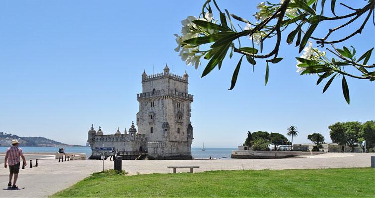 Der Torre de Belem......
