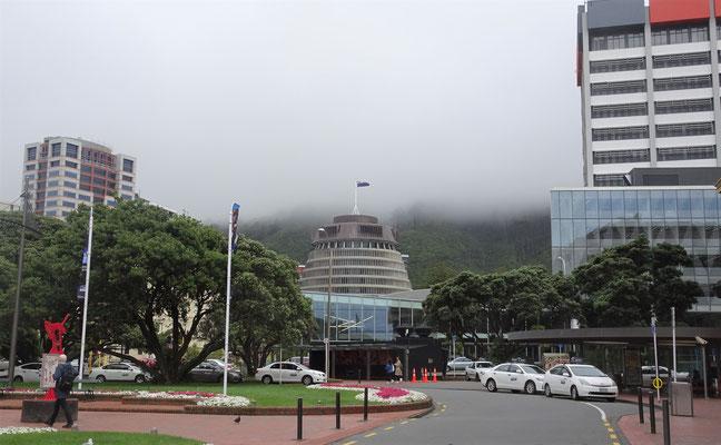 .....und das Wetter in Wellington.