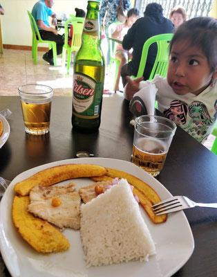 Nur ein Bier, nicht 2 Biere.