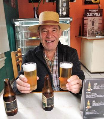 Das erste Peruanische Bier.