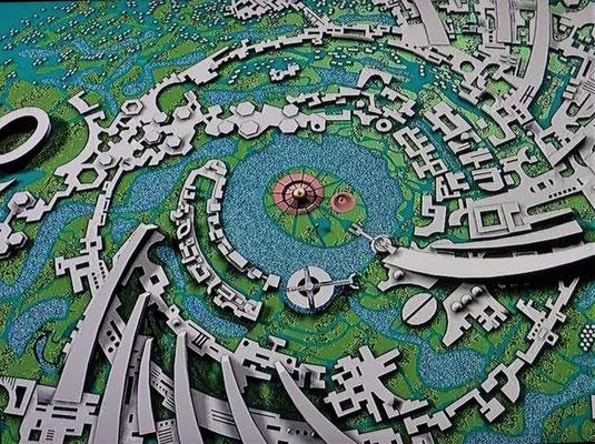 Das Modell von Auroville...
