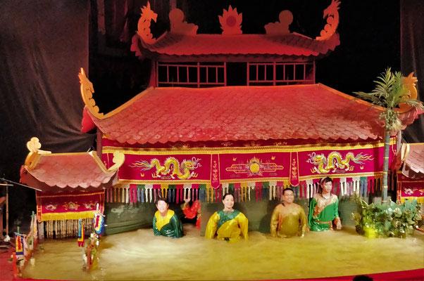 Die Akteure hinter der Bühne.