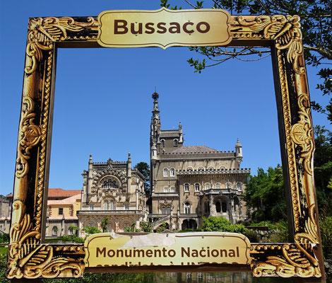 Der Bussaco Palast.