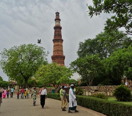 Das Qutub Minar...