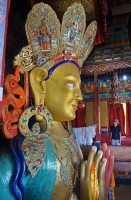 Der 14m hohe Buddha...