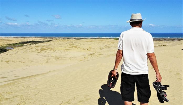 .....an der 90 Mile Beach....